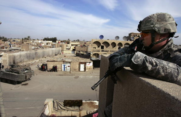 Baghdad「US Army 'Stryker' Forces Search Houses in Baghdad」:写真・画像(0)[壁紙.com]