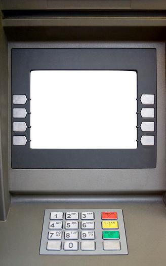 Device Screen「Blank screened bank teller machine」:スマホ壁紙(17)
