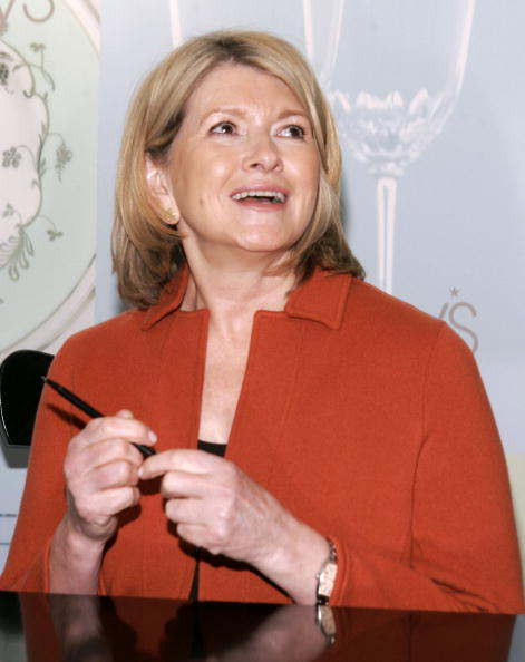 Sweet Food「Martha Stewart Signs Her Book At Macy's Herald Square - New York」:写真・画像(6)[壁紙.com]