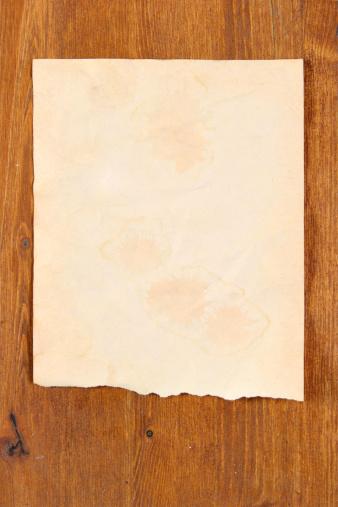 Manuscript「Old paper scrap」:スマホ壁紙(0)