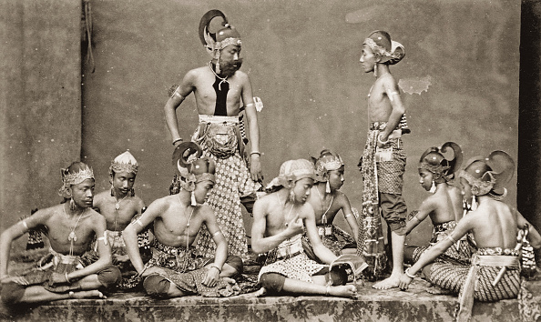 1880-1889「Javanese Actors. Indonesia. Photograph. About 1885.」:写真・画像(8)[壁紙.com]