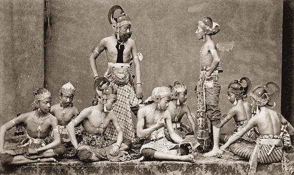 1880-1889「Javanese Actors. Indonesia. Photograph. About 1885.」:写真・画像(17)[壁紙.com]
