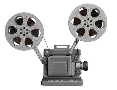 Film Projector「Movie Projector Side (3D)」:スマホ壁紙(2)