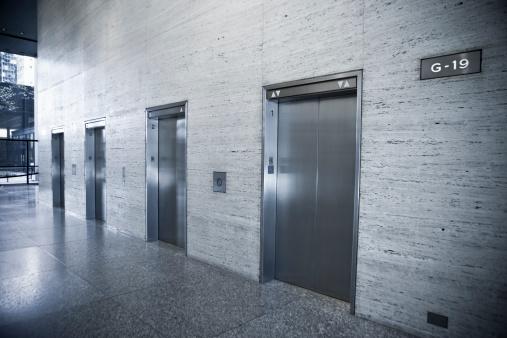 Elevator「Elevators in a modern office building」:スマホ壁紙(19)