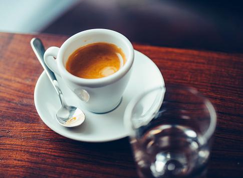 Glass - Material「Cup of espresso」:スマホ壁紙(1)
