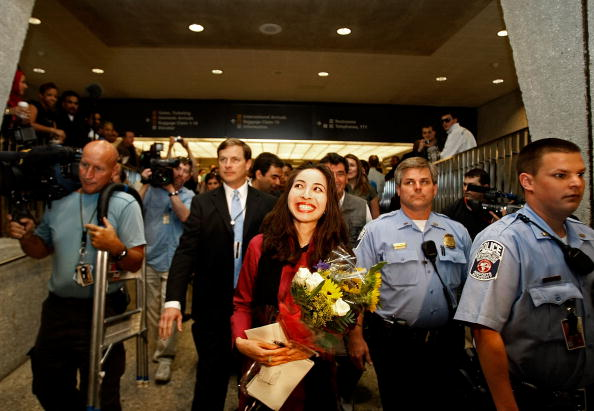Virginia - US State「US Journalist Freed From Iranian Detention Arrives Back To US」:写真・画像(12)[壁紙.com]