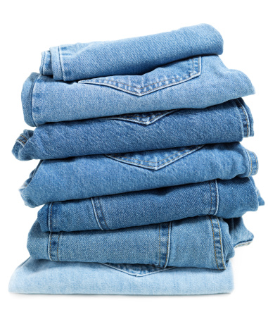 Casual Clothing「Blue Jeans Folded Stack」:スマホ壁紙(10)