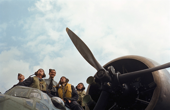 Fox Photos「Blenheim Crew」:写真・画像(0)[壁紙.com]