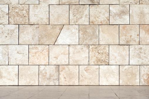 Brick Wall「Marble wall and floor」:スマホ壁紙(11)