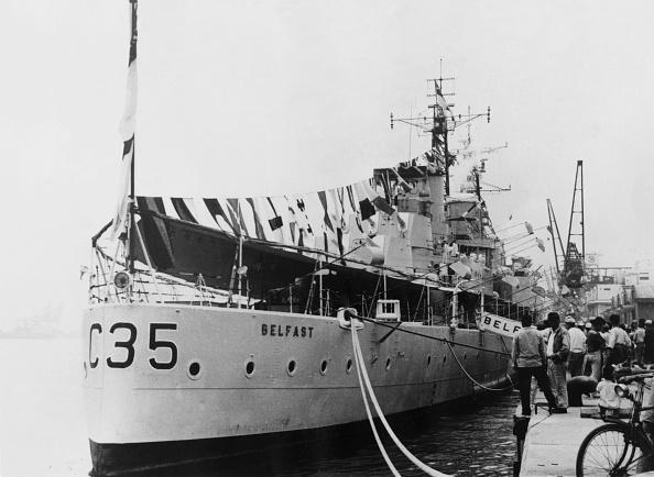 HMS Belfast「HMS Belfast In Tokyo」:写真・画像(12)[壁紙.com]