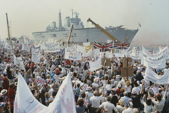 Falkland Islands「Falkands War Troops Return Home To United Kingdom」:写真・画像(4)[壁紙.com]