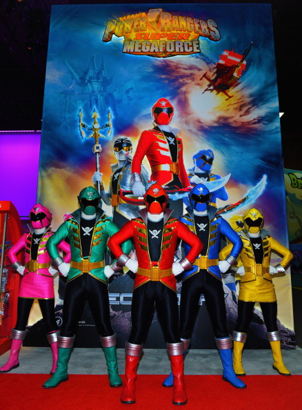 Bryan Steffy「Saban Brands Unveils The All New Power Rangers Super Megaforce And Julius Jr. Characters At Saban Brands' Booth At The 2013 International Licensing Expo At The Mandalay Bay Convention Center」:写真・画像(4)[壁紙.com]