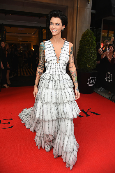 Scalloped - Pattern「The Mark Hotel Celebrates The 2017 Met Gala」:写真・画像(16)[壁紙.com]