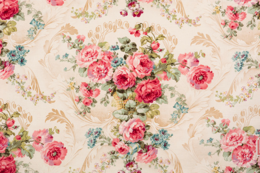 Floral Pattern「Reps Floral Fabric 07726868 Close Up」:スマホ壁紙(7)