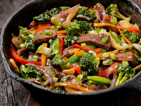 Stir-Fried「Beef and Broccoli Stir Fry」:スマホ壁紙(9)