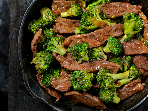 Baby Corn「Beef and Broccoli Stir Fry」:スマホ壁紙(2)