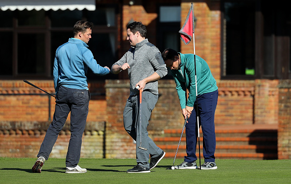 Surrey - England「Golf Clubs Remain Open in the UK during Coronavirus Pandemic」:写真・画像(11)[壁紙.com]