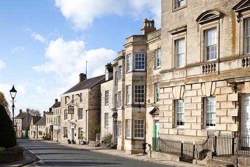 コッツウォルズ「The Cotswold town of Painswick」:スマホ壁紙(5)