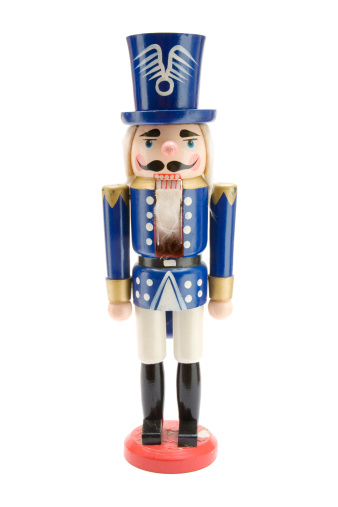 Christmas Decoration「Old Blue Nutcracker Soldier」:スマホ壁紙(10)