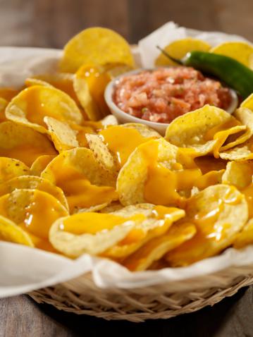 Taco「Nachos with Cheese Sauce and Salsa」:スマホ壁紙(1)
