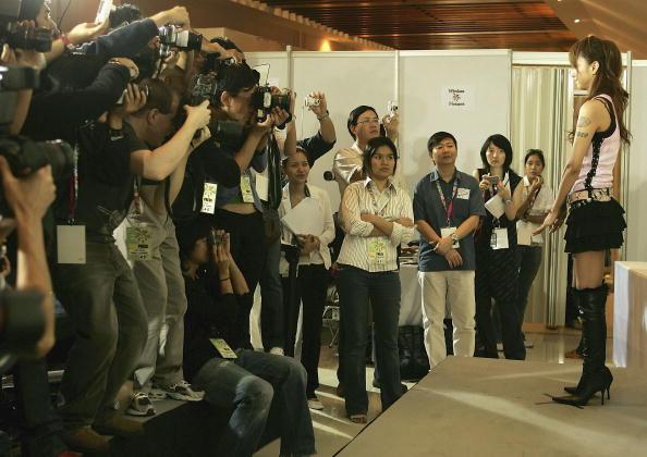 安室奈美恵「MTV Asia Aid - Pressroom」:写真・画像(4)[壁紙.com]