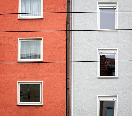 Contrasts「Two buildings, six windows」:スマホ壁紙(8)