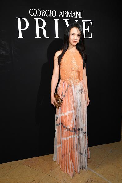 ブランド ジョルジオアルマーニ「Giorgio Armani Prive : Front Row - Paris Fashion Week - Haute Couture Fall/Winter 2017-2018」:写真・画像(9)[壁紙.com]