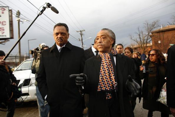 Al Sharpton「Whitney Houston Laid To Rest In Hometown Of Newark, New Jersey」:写真・画像(10)[壁紙.com]