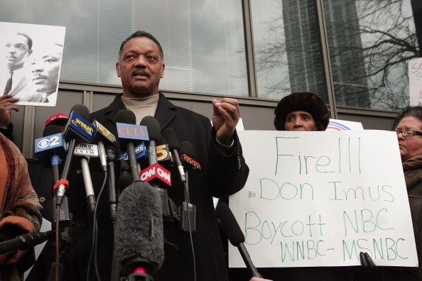 Black Civil Rights「Jesse Jackson Leads Rally To Protest Don Imus Comments」:写真・画像(11)[壁紙.com]