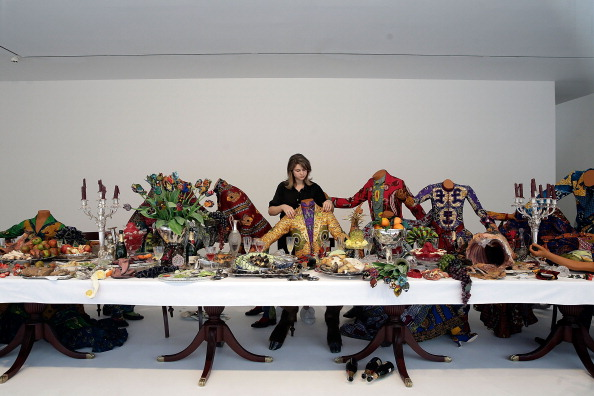 Last Supper「Artworks By Yinka Shonibare Are Exhibited At The Stephen Friedman Gallery」:写真・画像(11)[壁紙.com]
