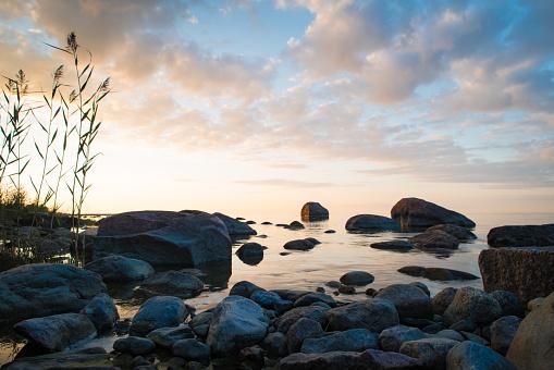 Spirituality「evening view of the sea」:スマホ壁紙(17)