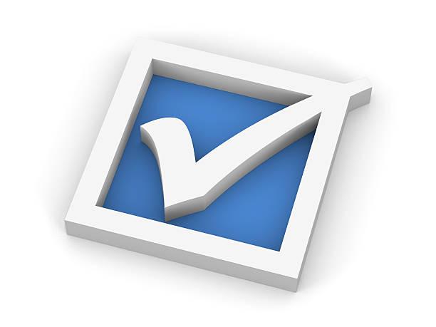Blue Check Mark Symbol:スマホ壁紙(壁紙.com)