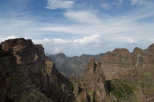 Pico Do Arieiro「Pico do Arieiro mountain」:スマホ壁紙(7)