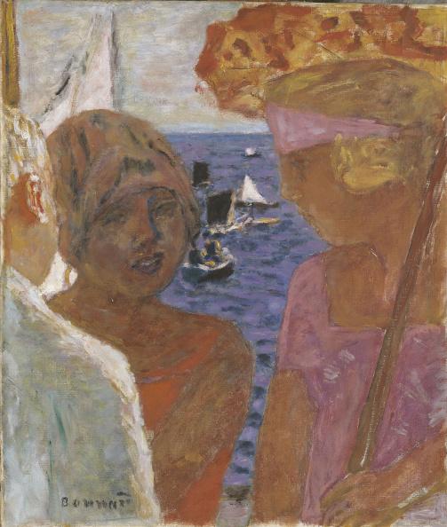Nouvelle-Aquitaine「The Conversation In Arcachon Artist: Bonnard」:写真・画像(0)[壁紙.com]