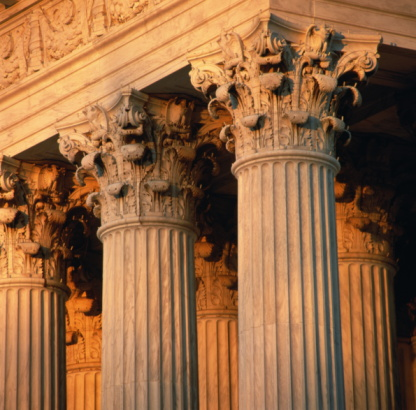 Legal System「USA,Washington DC,Supreme Court building,Corinthian columns,detail」:スマホ壁紙(6)