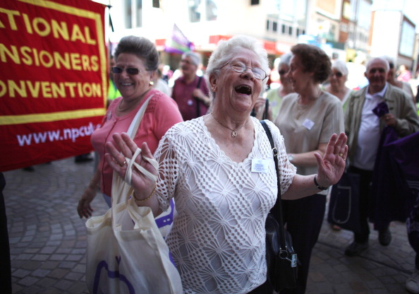 Senior Women「Pensioners Take Part In The National Pensioners Convention」:写真・画像(3)[壁紙.com]