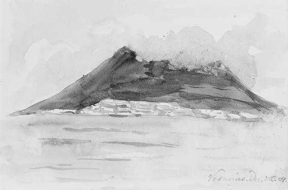 Volcanic Landscape「Vesuvius」:写真・画像(6)[壁紙.com]