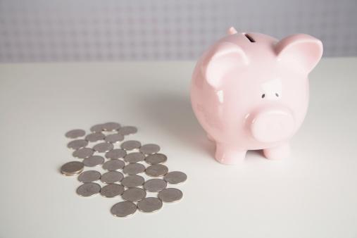 Teenager「Coins and piggy bank.」:スマホ壁紙(13)