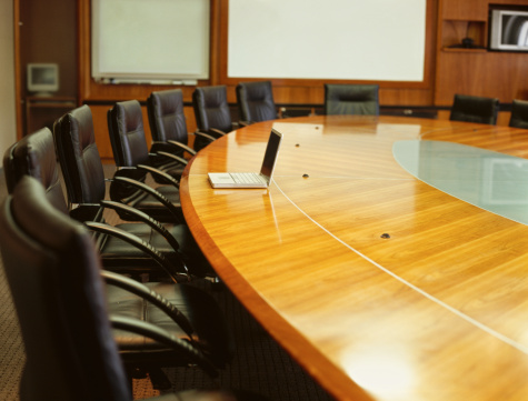 Focus On Background「table and chairs in a conference room」:スマホ壁紙(4)
