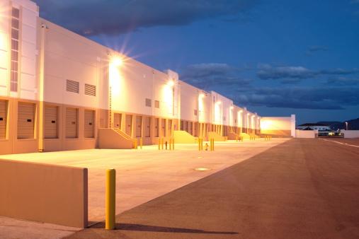 Receiving「Twilight Industrial Building」:スマホ壁紙(8)