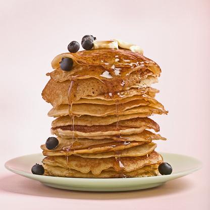 Blueberry「Stack of pancakes」:スマホ壁紙(2)