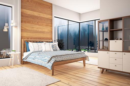 Master Bedroom「Loft Bedroom」:スマホ壁紙(11)