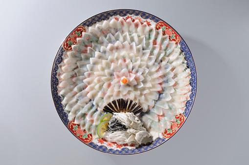 和食「Fugu (puffer fish) sashimi」:スマホ壁紙(4)