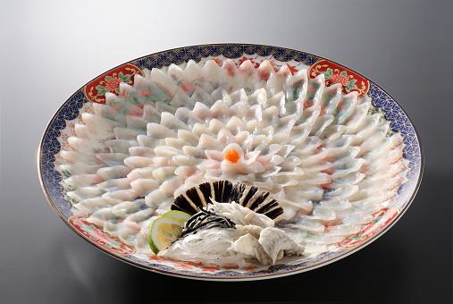 和食「Fugu (puffer fish) sashimi」:スマホ壁紙(12)