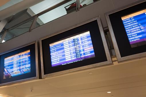 Delayed Sign「JFK Flights」:スマホ壁紙(1)