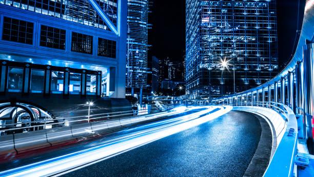 Hong Kong night city:スマホ壁紙(壁紙.com)