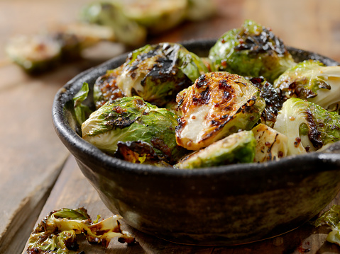 Condiment「BBQ Brussels Sprouts with Grainy Mustard, Honey Glaze」:スマホ壁紙(9)
