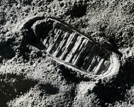 Moon「Footprint on Moon」:スマホ壁紙(6)