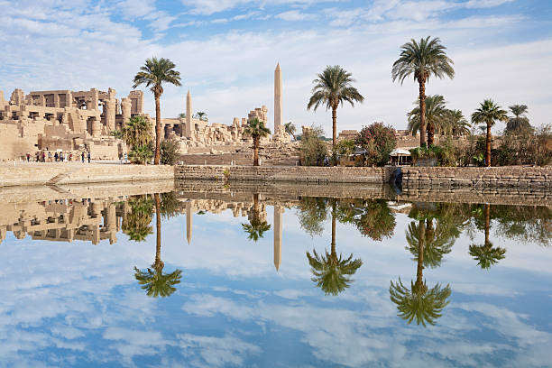 Temple of Amun-Re at the Temples of Karnak, Luxor, Egypt:スマホ壁紙(壁紙.com)