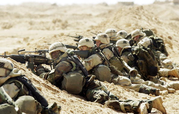 Iraq War 2003-2011「Coalition Forces Move Through Southern Iraq 」:写真・画像(5)[壁紙.com]